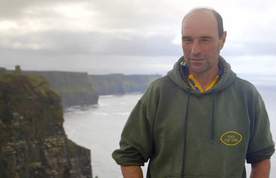 Pat Sweeney - walking guide cliffs Coastal walk