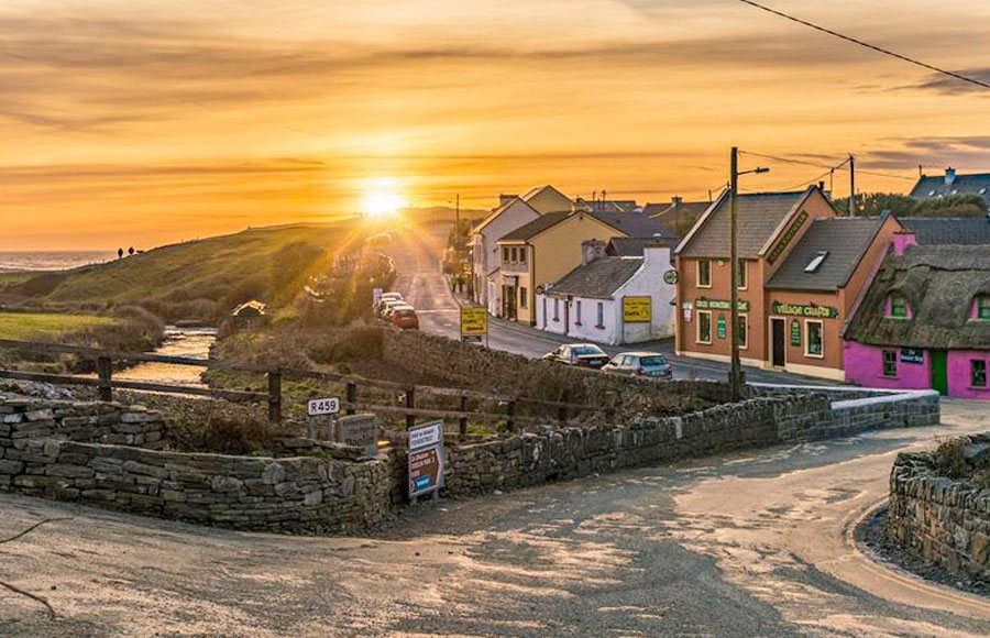 Doolin Village County Clare Ireland Ireland S Wild Atlantic Way
