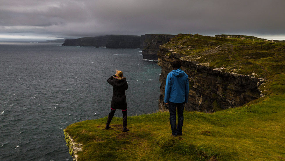 Stunning Cliffs of Moher near Doolin