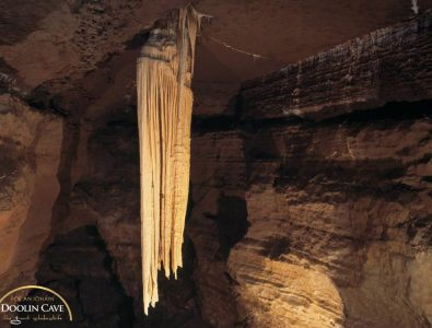 the-great-Stalactite at Doolin Cave