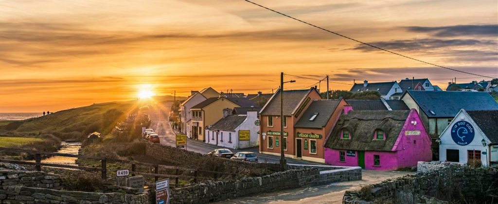 A-Doolin-Sunset-
