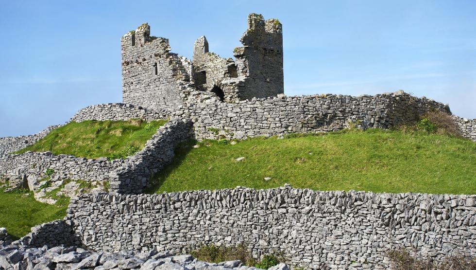 Doolin Aran Islands Ferry Irish Castle Stone Walls