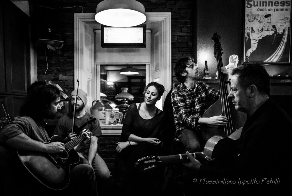 Musicians at Fitzpatricks bar