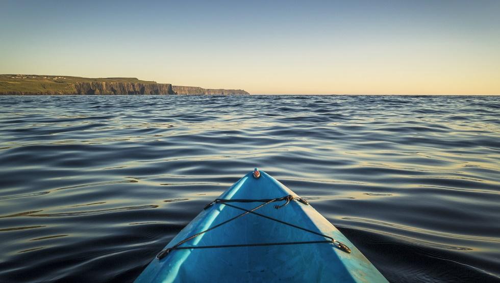 Doolin Stories Kayak Atlantic Ocean