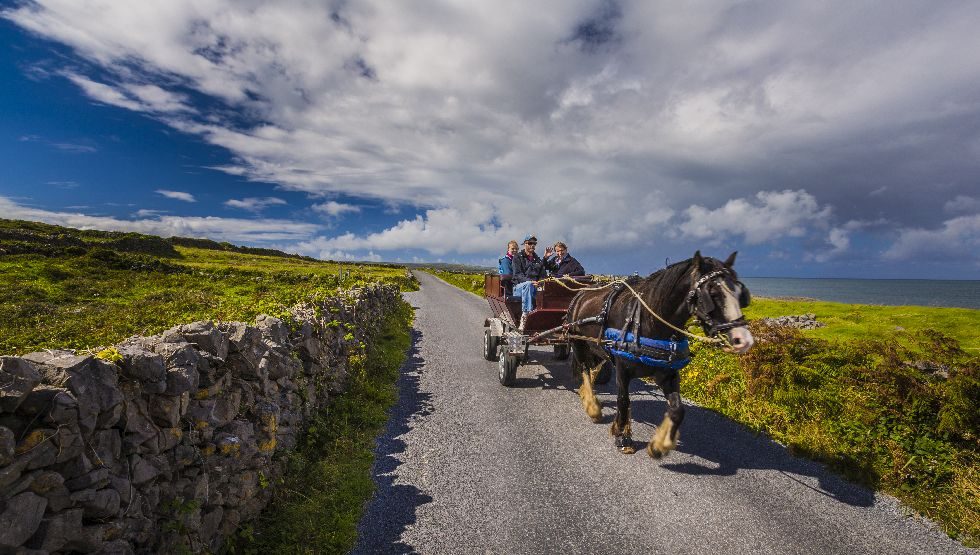 Horse cart, Doolin, Clare, Aran Islands, Wild Atlantic Way