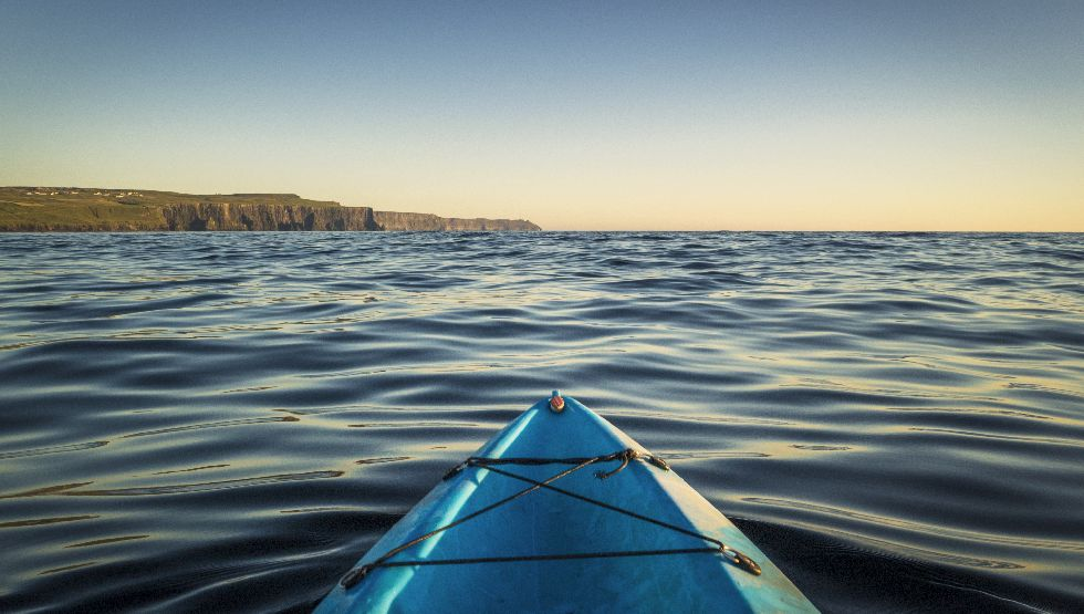 Kayak, Doolin, Cliffs of Moher, Clare, Wild Atlantic Way