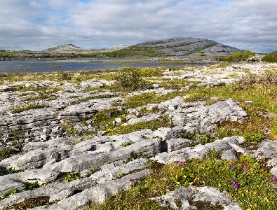 Gealain Lough, Mullagh More, The Burren, County Clare, Ireland, The wild Atlantic Way