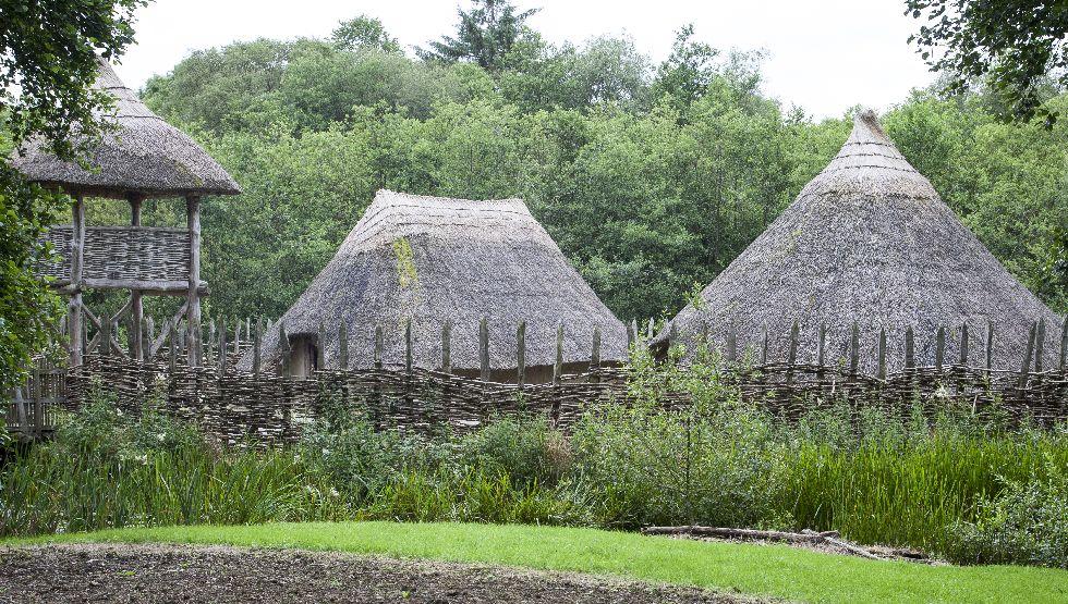 Craggaunowen Pre-Historic Folk Park, County Clare, Ireland.